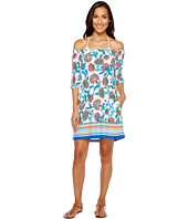 Tommy Bahama - Fira Floral Off The Shoulder Short Dress Cover-Up