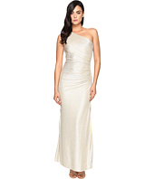 Laundry by Shelli Segal - One Shoulder Foil Gown