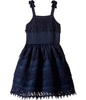 Nanette Lepore Kids - Ponte Dress with Crochet Trim (Little Kids/Big Kids)