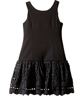 Nanette Lepore Kids - Ponte Novelty Lace Dress (Little Kids/Big Kids)