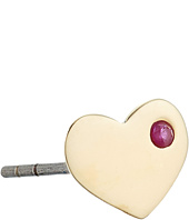 Marc Jacobs - Something Special Strass Heart Single Stud Earrings