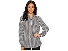 Stripe Long Sleeve Blouse