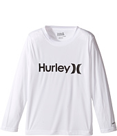 Hurley Kids - One & Only Sun Protect Long Sleeve Tee (Little Kids)