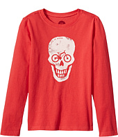 Life is Good Kids - Bike Skull Long Sleeve Crusher Tee (Little Kids/Big Kids)