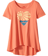 Life is Good Kids - Sunshine Heart Scoop Neck Swing Tee (Little Kids/Big Kids)