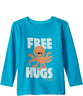 Life is Good Kids - Free Hugs Long Sleeve Crusher Tee (Toddler)