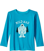 Life is Good Kids - Wild Man Long Sleeve Crusher Tee (Toddler)