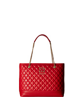 LOVE Moschino - Quilted Tote with Chain