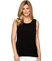 Tribal - Travel Pack and Go Jersey Draped Front Tank Top