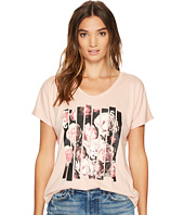 Converse - Blocked Floral Type Femme Tee