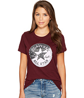 Converse - Spliced Leopard Chuck Patch Short Sleeve Crew Tee