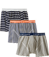 Toobydoo - Multi Stripe Underwear 3-Pack (Infant/Toddler/Little Kids/Big Kids)