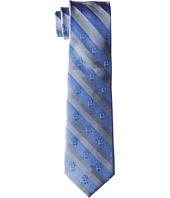 Cufflinks Inc. - R2D2 Blue and Grey Stripe Tie