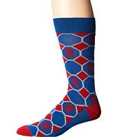 Cufflinks Inc. - Spiderman Blue Checker Socks