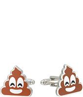 Cufflinks Inc. - Poo Emoji Cufflinks