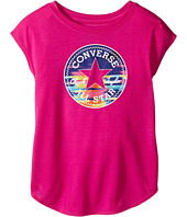 Converse Kids - Printed Chuck Patch Tee (Toddler/Little Kids)