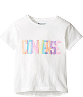 Converse Kids - Neon Lights Boxy Tee (Toddler/Little Kids)