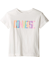 Converse Kids - Neon Lights Boxy Tee (Big Kids)