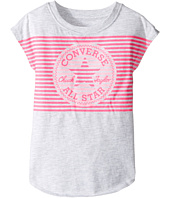 Converse Kids - Optic Chuck Patch Tee (Toddler/Little Kids)