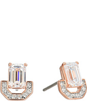 Swarovski - Gallery Square Pierced Earrings