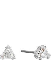 Swarovski - Attract Triangle Stud Pierced Earrings