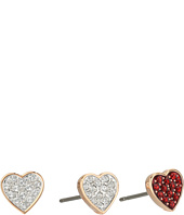 Swarovski - Crystal Wishes Heart Pierced Earrings Set