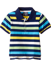 Toobydoo - Multi Stripe Short Sleeve Polo (Infant/Toddler/Little Kids/Big Kids)
