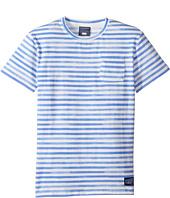Toobydoo - Watercolor Blue T-Shirt (Infant/Toddler/Little Kids/Big Kids)