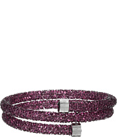 Swarovski - Crystaldust Heart Double Bangle Bracelet