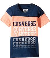 Converse Kids - Color Block Repeat Top (Toddler/Little Kids)