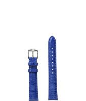 Michele - 16mm Cobalt Lizard Strap Blue