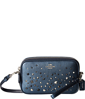 COACH - Metallic Star Rivets Crossbody Clutch