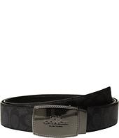 COACH - Stictched Plaque Signature Reversible Belt