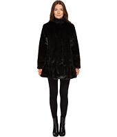 Kate Spade New York - Faux Mink Fur Jacket
