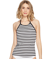 La Blanca - Mime Games Hi-Neck Halter Tankini Top