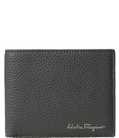 Salvatore Ferragamo - Textured Leather Bifold