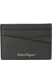 Salvatore Ferragamo - Textured Leather Credit Card Pouch
