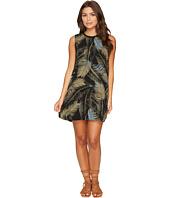 RVCA - Roadside Printed Palm Shift Dress