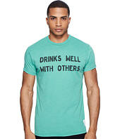 The Original Retro Brand - Short Sleeve Heathered Drinks Well with Others Tee