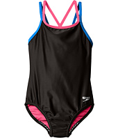 Speedo Kids - Crossback One-Piece Swimsuit (Big Kids)