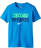 Nike Kids - Record Breaker Tee (Little Kids)