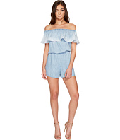 Michael Stars - Linen Denim Tencel Convertible Romper