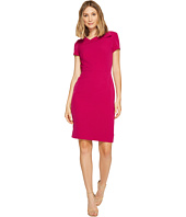 Tahari by ASL - Fold-Over Neck Sheath Dress