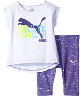 Puma Kids - Logo Leggings Set (Little Kids)