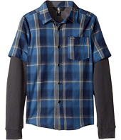 Volcom Kids - Hayes Twofer Shirt (Big Kids)