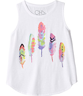 Chaser Kids - Painted Feathers Tank Top (Little Kids/Big Kids)