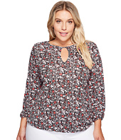 MICHAEL Michael Kors - Plus Size Brooks Peasant Top
