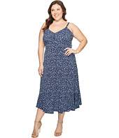 MICHAEL Michael Kors - Plus Size Quinn Lacing Slip Dress