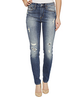 Jean Shop - Nikki Skinny Cutoff in Hobo
