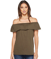 MICHAEL Michael Kors - Off Shoulder Flounce Top